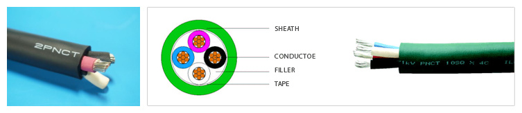 China cheap rubber pnct cable factory price manufacturers