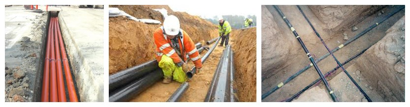 the installation of 11kv cable